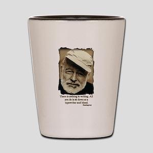 Hemingway3-Bleed Shot Glass