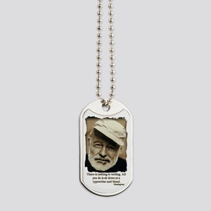 Hemingway3-Bleed Dog Tags