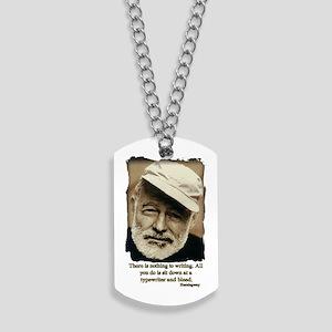 Hemingway3-Bleed Dog Tags
