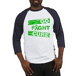 Kidney Disease Go Fight Cure Baseball Jersey