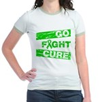 Kidney Disease Go Fight Cure Jr. Ringer T-Shirt