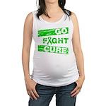 Kidney Disease Go Fight Cure Maternity Tank Top