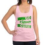 Kidney Disease Go Fight Cure Racerback Tank Top