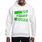Kidney Disease Go Fight Cure Hooded Sweatshirt