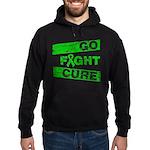Kidney Disease Go Fight Cure Hoodie (dark)