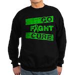 Kidney Disease Go Fight Cure Sweatshirt (dark)