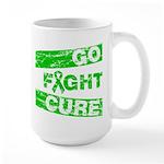 Kidney Disease Go Fight Cure Large Mug