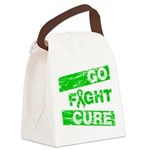 Kidney Disease Go Fight Cure Canvas Lunch Bag
