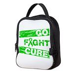 Kidney Disease Go Fight Cure Neoprene Lunch Bag