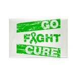 Kidney Disease Go Fight Cure Rectangle Magnet (100