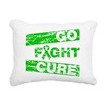 Kidney Disease Go Fight Cure Rectangular Canvas Pi