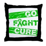 Kidney Disease Go Fight Cure Throw Pillow