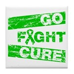 Kidney Disease Go Fight Cure Tile Coaster