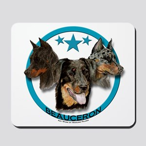 Beauceron - Three Heads are Better Than One Mousep