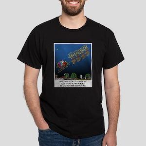 Santa's GPS Dark T-Shirt