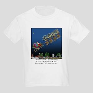 Santa's GPS Kids Light T-Shirt