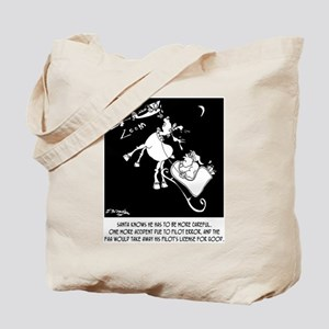 Santa & The FAA Tote Bag