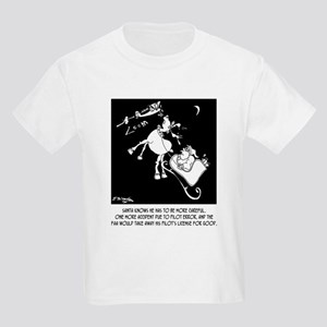 Santa & The FAA Kids Light T-Shirt