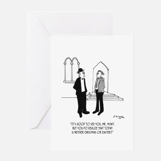 At Church on NonHoliday? Greeting Card