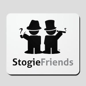 Stogie Friends Black Mousepad