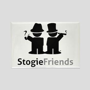 Stogie Friends Black Magnets