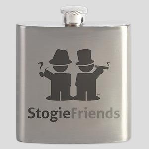 Stogie Friends Black Flask