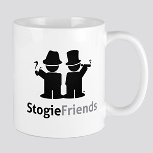 Stogie Friends Black Mugs