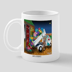 Santa Upgrades Mug