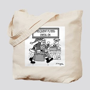 Santa is a Frequent Flyer Tote Bag