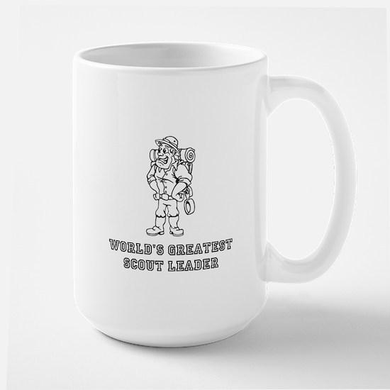 World'S Greatest Scout Leader Large Mug