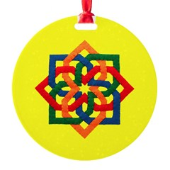 Celtic Knot - Primary Angles Ornament