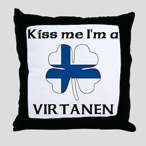 Virtanen Family Throw Pillow