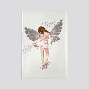 Pink Pixie Rectangle Magnet