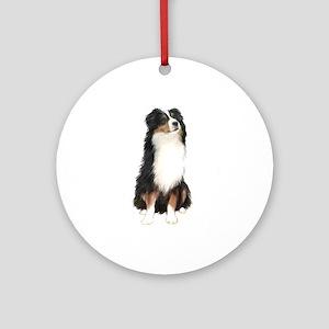 Australian Shep (tri) #2 Ornament (Round)