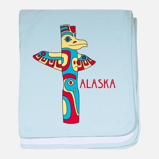 Alaska baby blanket