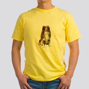 Australian Shep (tri) #2 Yellow T-Shirt