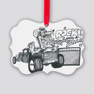 ROCK-N-ROLL Picture Ornament