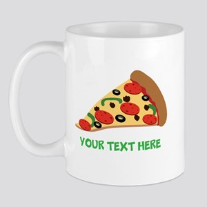 Pizza Lover Personalized Mug