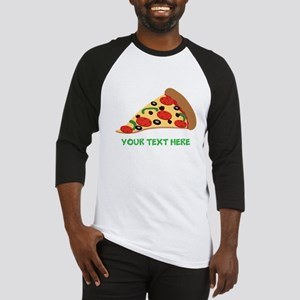 Pizza Lover Personalized Baseball Jersey