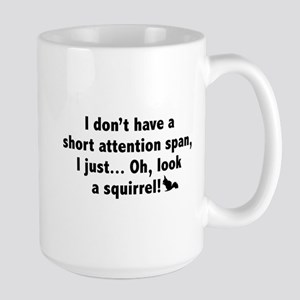 Short Attention Span Large Mug