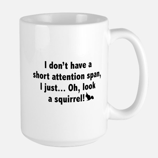 Short Attention Span Large Mug