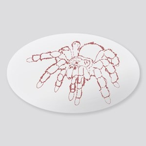 Red tarantula Sticker
