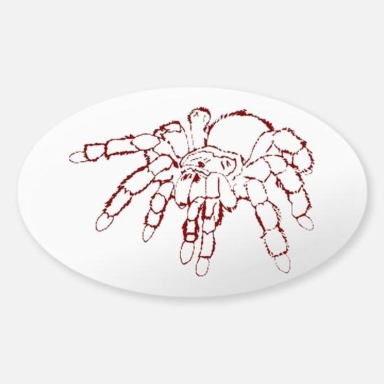 Red tarantula Decal