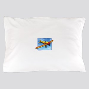 Red and Yellow Small Plane Pillow Case
