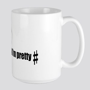 Sharp Pun Large Mug