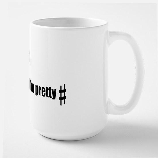 Sharp Pun Large Mug
