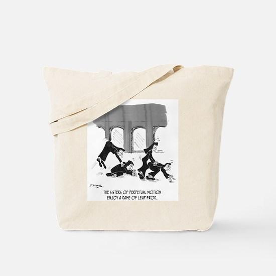 Sisters of Perpetual Motion Tote Bag