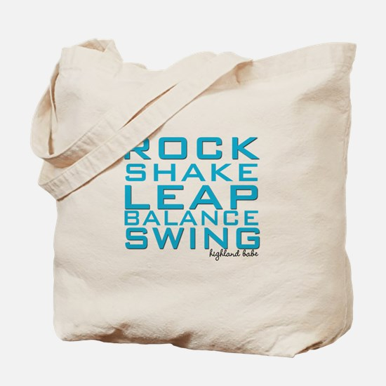 Shake and Rock Highland Babe Tote Bag