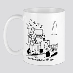 Donating Organist to Science Mug