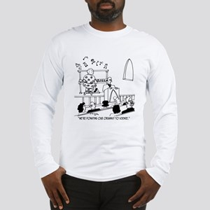 Donating Organist to Science Long Sleeve T-Shirt